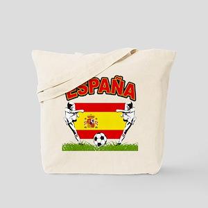 Spainish Soccer Tote Bag
