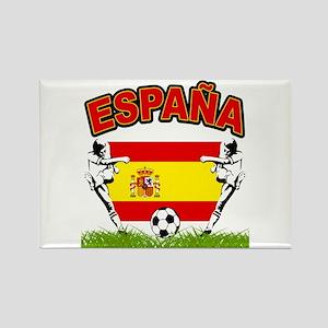 Spainish Soccer Rectangle Magnet
