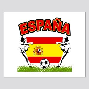 Spainish Soccer Small Poster