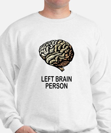 LEFT BRAIN Sweatshirt