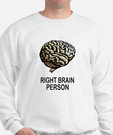 RIGHT BRAIN Sweatshirt