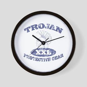 Trojan Protective Gear XXL Wall Clock