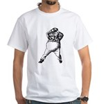 Mad Tweedle Dee White T-Shirt