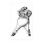 Mad Tweedle Dee Sticker (Rectangle 10 pk)