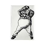 Mad Tweedle Dee Rectangle Magnet (10 pack)