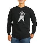 Mad Tweedle Dee Long Sleeve Dark T-Shirt