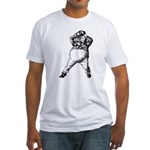 Mad Tweedle Dee Fitted T-Shirt