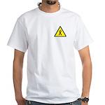 White POZ T-Shirt