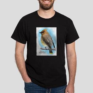 Cedar Waxwing Dark T-Shirt