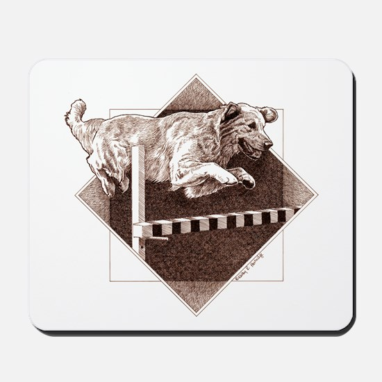 Obedience Golden Mousepad