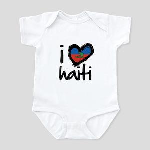 iheart-Haiti-island Body Suit