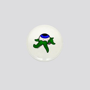 Eye with tentacles Mini Button