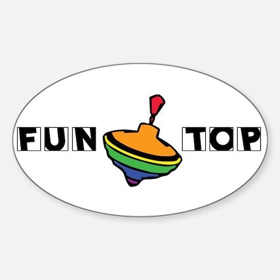 Fun Top Oval Decal