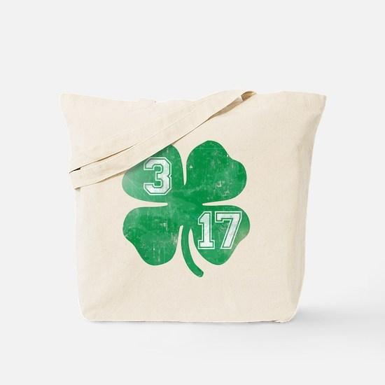 St Patricks Day 3/17 Shamrock Tote Bag