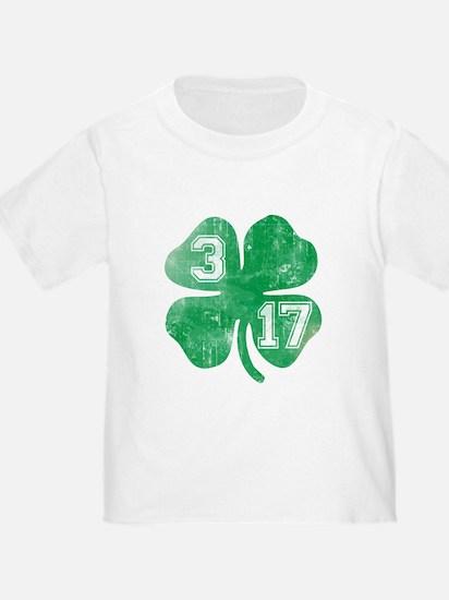 St Patricks Day 3/17 Shamrock T