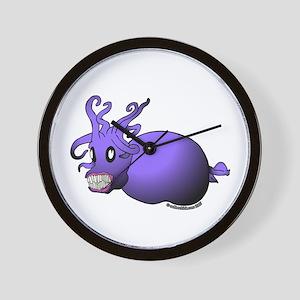 Happy Piglet Squid Wall Clock