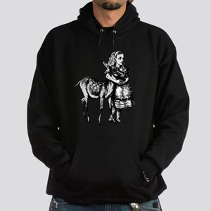 Alice and Fawn Hoodie (dark)