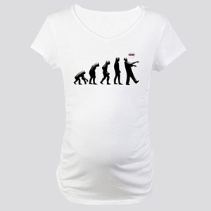 Evolution of The Zombie Maternity T-Shirt
