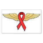 HIV/AIDS Rectangle Sticker