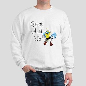 Great Aunt To Bee Sweatshirt