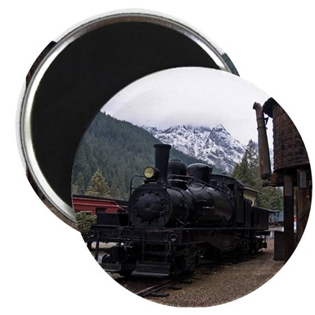 """Shay Locomotive & Tower 2.25"""" Magnet (10 pack)"""
