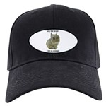 Only Bad People Test on Animals Black Cap