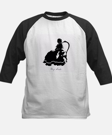 Mary Todd Lincoln Kids Baseball Jersey