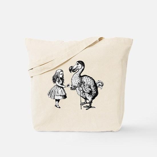 Alice and Dodo Tote Bag