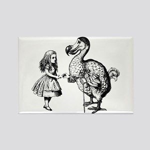Alice and Dodo Rectangle Magnet