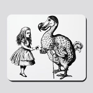 Alice and Dodo Mousepad