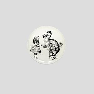 Alice and Dodo Mini Button