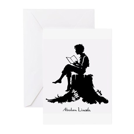 Young Abe Lincoln Greeting Cards (Pk of 10)