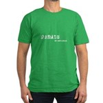 Donuts: My Anti-Drug. Men's Fitted T-Shirt (dark)