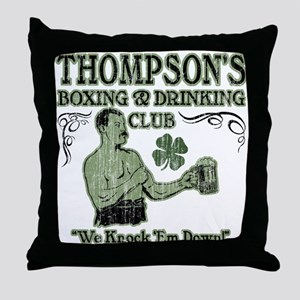 Thompson's Club Throw Pillow