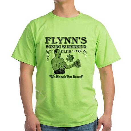 Flynn's Club Green T-Shirt