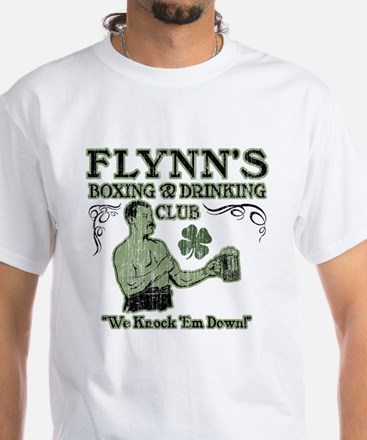 Flynn's Club White T-Shirt