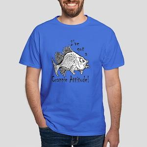 Crappie Attitude Dark T-Shirt