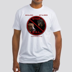 STOP B.S.L. - Fitted T-Shirt
