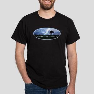 Banff Alberta Canada Black T-Shirt