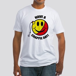Crappie Day Fitted T-Shirt