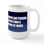 Crappie Fishing Large Mug