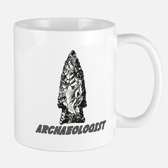 "Archaeologist ""Point"" Mug"