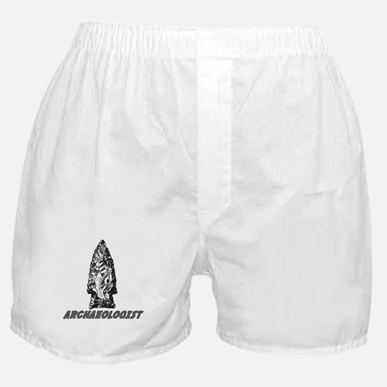 """Archaeologist """"Point"""" Boxer Shorts"""