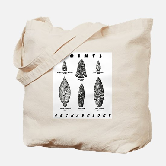 """Archaeologist """"Point"""" Tote Bag"""