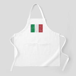 Vintage Italy Flag Apron