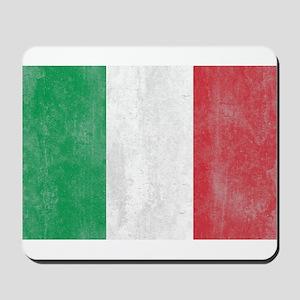 Vintage Italy Flag Mousepad