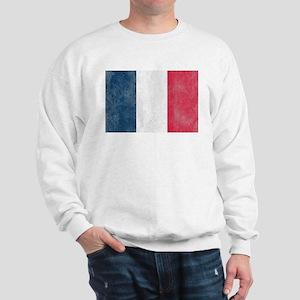 Vintage French Flag Sweatshirt