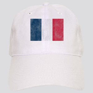 Vintage French Flag Cap