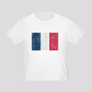 Vintage French Flag Toddler T-Shirt