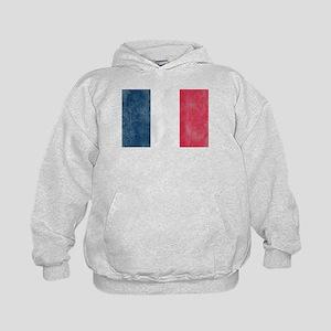 Vintage French Flag Kids Hoodie